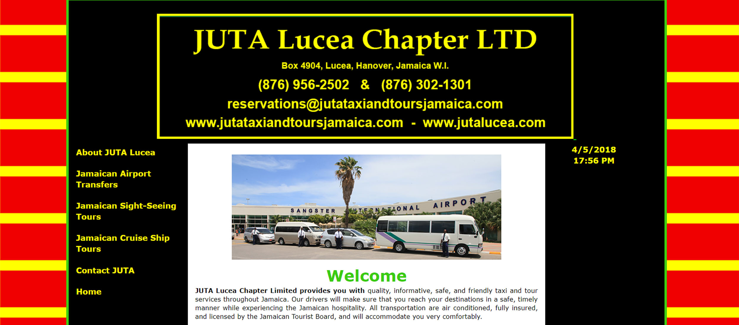 JUTA Taxi and Tours Jamaica by Barry J. Hough Sr.