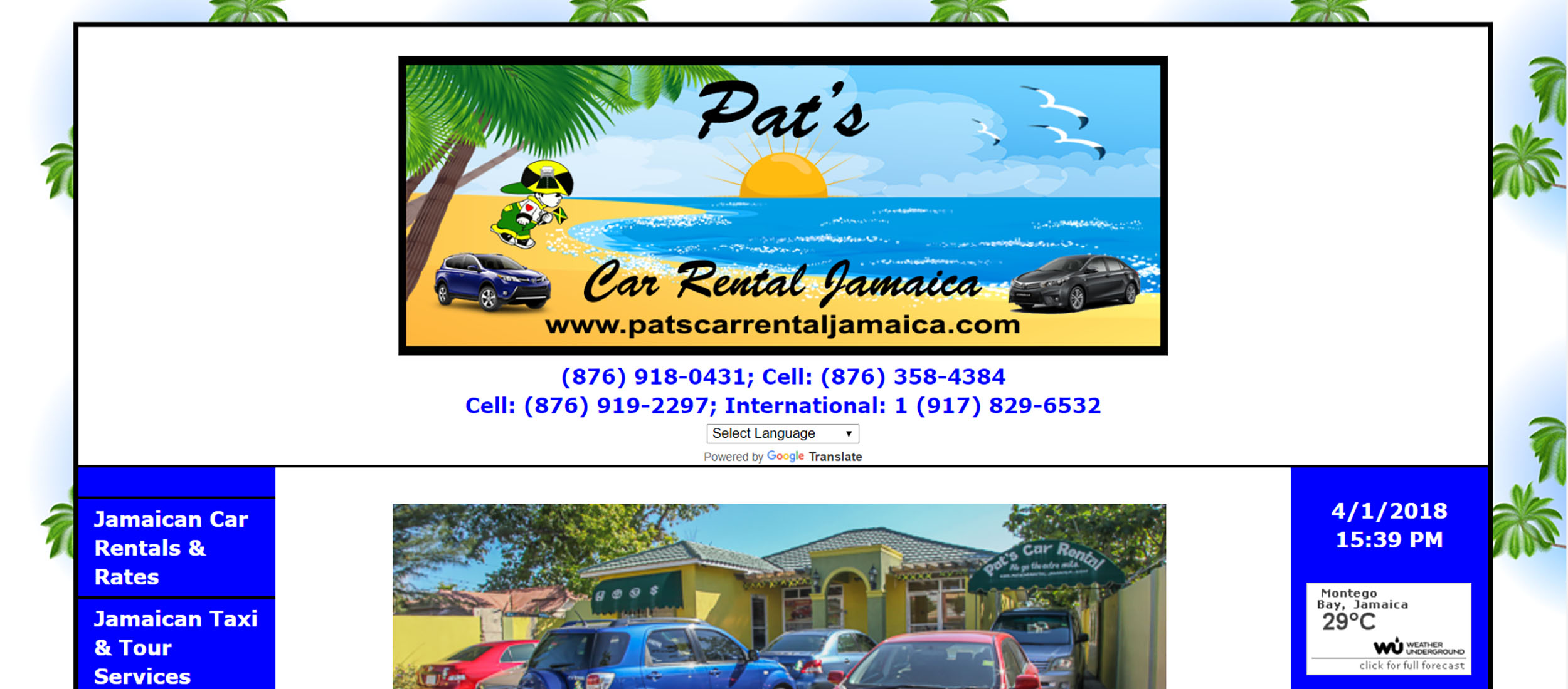 Pat's Car Rental Jamaica by Barry J. Hough Sr.